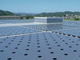 屋上自然力応用遮熱シートシステムのご紹介