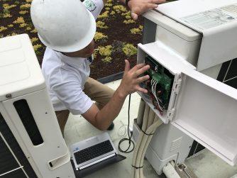 ≪工事レポート≫空調省エネ機器 静岡県内 某工場様 お取付!