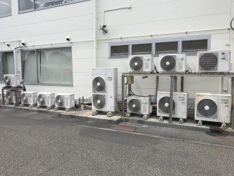≪工事レポート≫静岡県静岡市内 某企業様 空調省エネ機器取付!